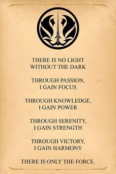 "The ""Official"" Gray Jedi Code - Also pinning it here for motivation!"