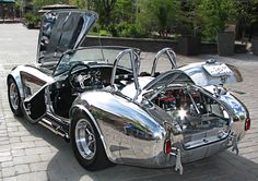 Kirkham Motorsports Cobra...  Look them up on the internet and read how they got into the Cobra reproduction business, the story is as incredible as their product.