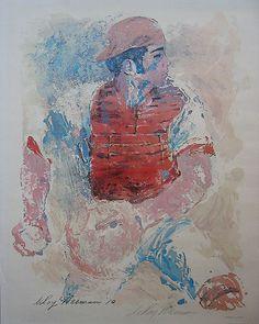 LeRoy Neiman...JOHNNY BENCH