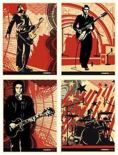 Interpol + Shepard Fairey