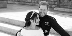 Prince Harry and Meghan Markle's Official Royal Wedding Portraits Have Just Been Released