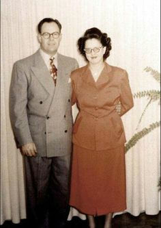 George and Olive Osmond (Mother and Father Osmond)