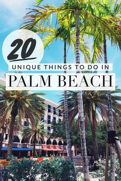The ultimate guide of things to do in West Palm Beach ad Jupiter, Florida. This includes everything from snorkeling and shopping to beaches and museums! #palmbeach #florida #vacation