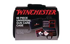 When you sit down to clean any firearm, you want to have everything you need right in front of you so that you don't have to run around hunting for parts. This Winchester Deluxe Universal Cleaning Kit comes with 68 pieces so that you won't have to look anywhere else!
