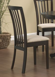 Jennifer Convertibles: Sofas, Sofa Beds, Bedrooms, Dining Rooms & More! Beige & Cappuccino Chair (Set of Dining Room Sets, Dining Chair Set, Dining Room Chairs, High Back Dining Chairs, Chair Types, Chair Backs, Upholstered Chairs, Wooden Furniture, Modern Chairs