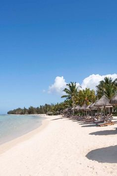 Thirsty? Step away from your umbrella and head to the beach bar. Constance Belle Mare Plage (Mauritius) - Jetsetter