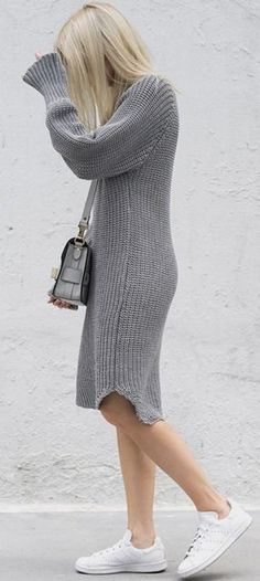 cute and comfy outfits Autumn Look, Grey Fashion, Minimal Fashion, Womens Fashion, Fashion Trends, Minimal Style, Minimal Classic, Style Fashion, Winter Stil