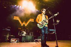 Weezer @ the St. Augustine Ampitheatre.