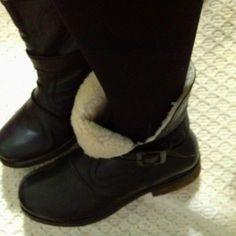 Black boots #aldo