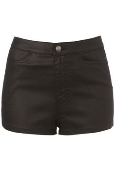 Leather hot pants :)