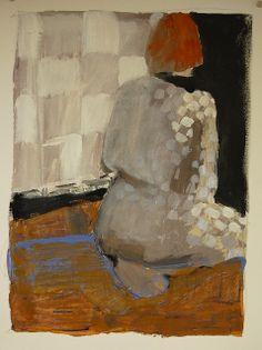 Checkered robe by Karen L Darling, via Flickr
