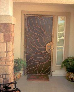 would love custom security doors like this