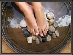 pedicures - have your feet on the solid Rock