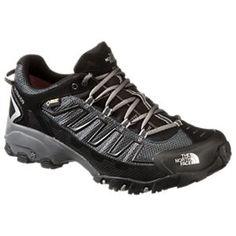 The North Face Ultra 109 GTX GORE-TEX Running Shoes for Men - TNF Black/Dark Shadow Grey - 11.5 M