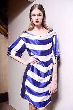 Tendencias primavera 2013 rayas stripes blanco y negro