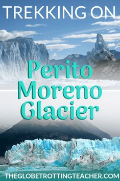 Trekking on Perito Moreno Glacier- Planning a trip to Patagonia? Perito Moreno glacier is a must! Use this guide to plan your ice trek onto Perito Moreno, as well as get travel tips for how to visit the glacier without a guide. Backpacking Europe, Europe Packing, Traveling Europe, Packing Lists, Travel Packing, Travelling, Vacation Deals, Travel Deals, Travel Hacks