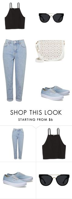 """""""Untitled #52"""" by bleona-ermonda on Polyvore featuring Topshop, Quay and Under One Sky"""