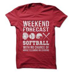 Weekend Forecast Softball