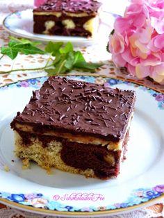 Rezept für Donauwellen, aus meinem Buch Süße Sünde: Schokolade