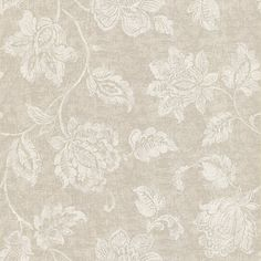 58-54441 Aqua Jacobean - Sorrento - Kenneth James Wallpaper