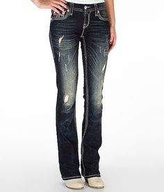 Rock Revival Drew Boot Stretch Jean #buckle