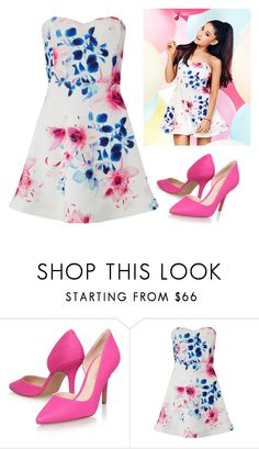 """Untitled #2581"" by sarah-michelle-steed ❤ liked on Polyvore featuring Nine West and Lipsy"