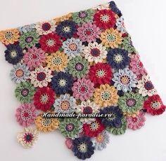 Crochet Blanket + Diagrams