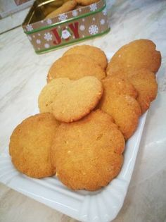Mogyoróvajas keksz Cookie Jars, Biscuits, Muffin, Cookies, Breakfast, Food, Crack Crackers, Crack Crackers, Morning Coffee