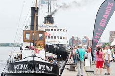 Steamboats  #hansesail2014 #rostock #warnemünde #tall-ships