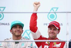 Via Twitter Lewis Hamilton and Sebastian Vettel