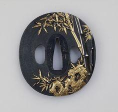 Ishiguro Masayoshi: Sword guard (tsuba) (36.120.79) | Heilbrunn Timeline of Art History | The Metropolitan Museum of Art