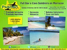 Full Day Cayo Sombrero  #PlayasDeVenezuela #CayoSombrero #ParqueNacionalMorrocoy #Venezuela #PasoboTours #RecorriendoVenezuela #TurismoEnVenezuela #VenezuelaEsBella