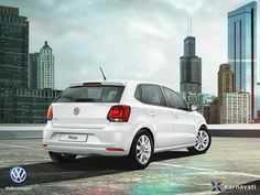 The hugely popular Golf hatchback, and that's also what it feels like to drive- Volkswagen #Polo.