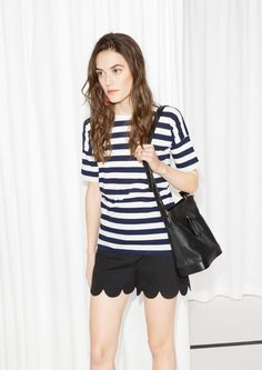 & Other Stories | Striped T-shirt, $25