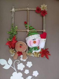 Christmas Clay, Felt Christmas Ornaments, Christmas Sewing, Christmas Projects, Winter Christmas, Christmas Time, Christmas Wreaths, Elf Christmas Decorations, Christmas Table Settings