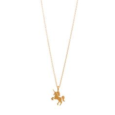 You Are Magical Unicorn Necklace, Gold Dipped | Dogeared