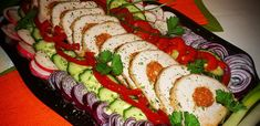 Hungarian Recipes, Hungarian Food, Food Platters, Caprese Salad, My Recipes, Sushi, Bacon, Food Porn, Goodies