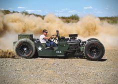 1945 Willy Jeep Rat Rod by Randy Ellis Design