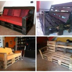 Divano in Pallets / Pallet Sofa