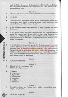 ГДЗ Stunde 12-19 - Немецкий язык 6 класс Сотникова