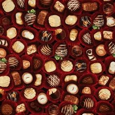 The Sweet Shop Chocolates Confections Candy Cotton Fabric