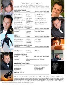 Acting Resume, Actor Quotes, Red Jumper, Head Shots, Big Fish, Performing Arts, Modeling, Singing, Interview