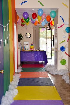 Candyland themed birthday party!