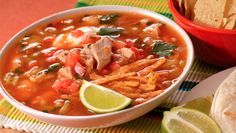 Hot and Yummy Recipe Of Chicken Tortilla Soup