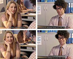 I like your glasses...