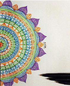 By @a_r_t28  #mandala #mandalas #coloriageantistress  #mandalatime #mandalapassion #mandalaart #mandaladesign #colouring #mandalaoftheday #mandalatherapy #adultcolouring #mandalazen #mandalacoloring #coloringtherapy #mandalalove #mandaladoodle #creativelycoloring #coloring #zenart #mandalaflower #mandalastyle #coloringtime #zentangle #coloringforadults #mandalapattern #zendala #zendalas
