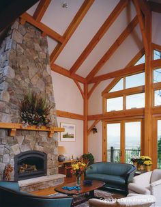 Colorado Timber Frame Mountain Home