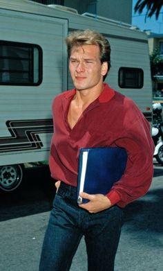 Patrick Swayze 1990.