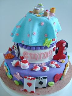 Alice in Wonderland, Baked Keepsakes