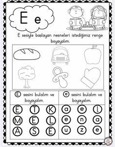 Beginning Sounds Worksheets, Word Search, Coloring Pages, Homeschool, Words, Beginning Sounds, Alphabet, Preschool, Lyrics